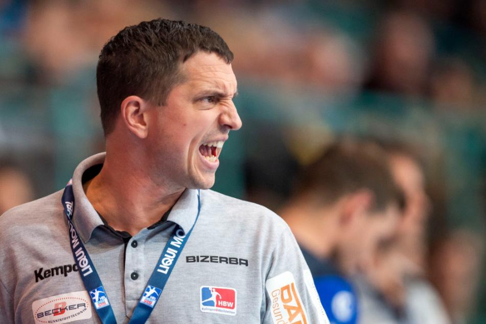 Balingen-Weilstettens Trainer Jens Bürkle.