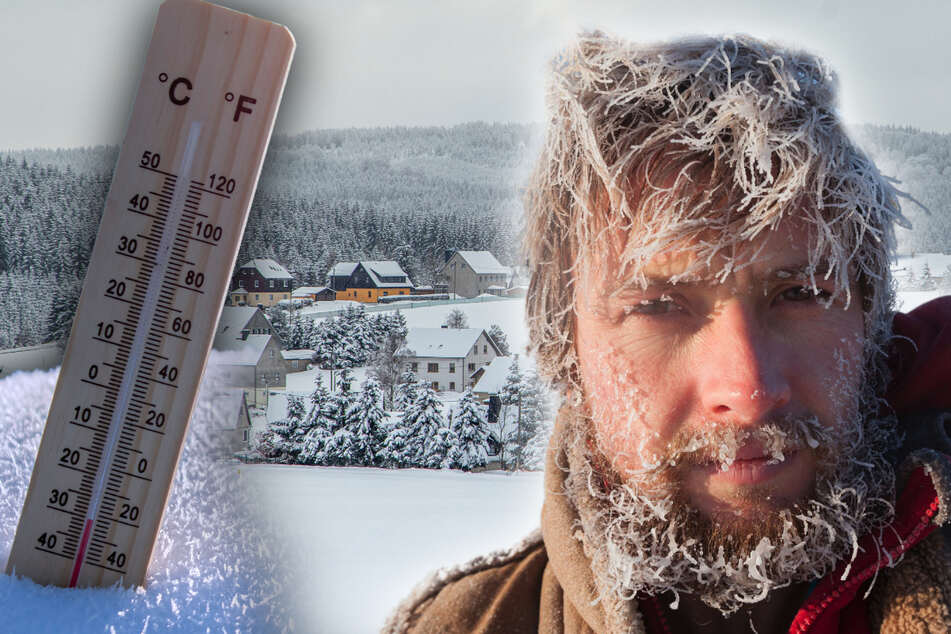 Minus 30,5 Grad! Kälteschock in Sachsen
