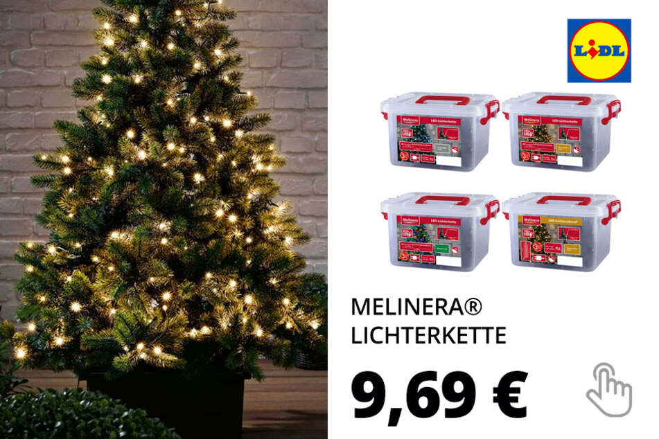MELINERA® Lichterkette, 8 Lichteffekte