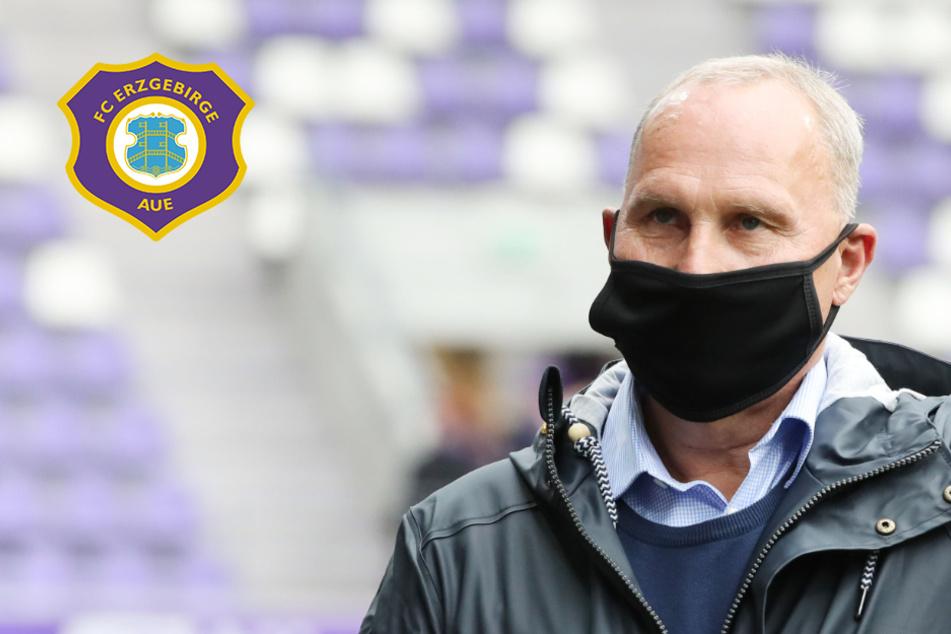 """Hammer-Liga und endlich wieder Derbys? Aue-Boss Leonhardt: """"Mit Fans wäre das grandios!"""""""