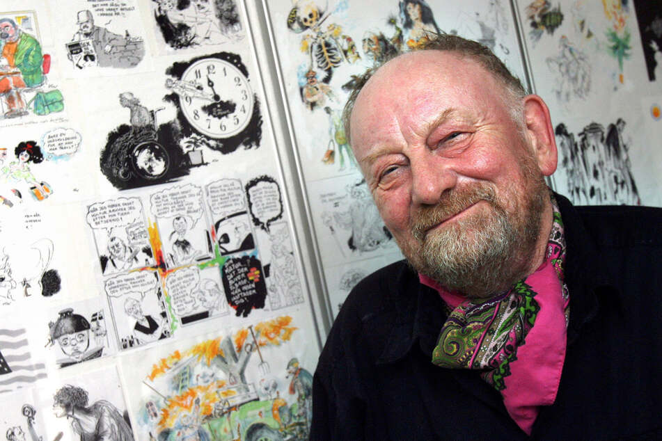 Karikaturist Kurt Westergaard (†86). (Archivbild)