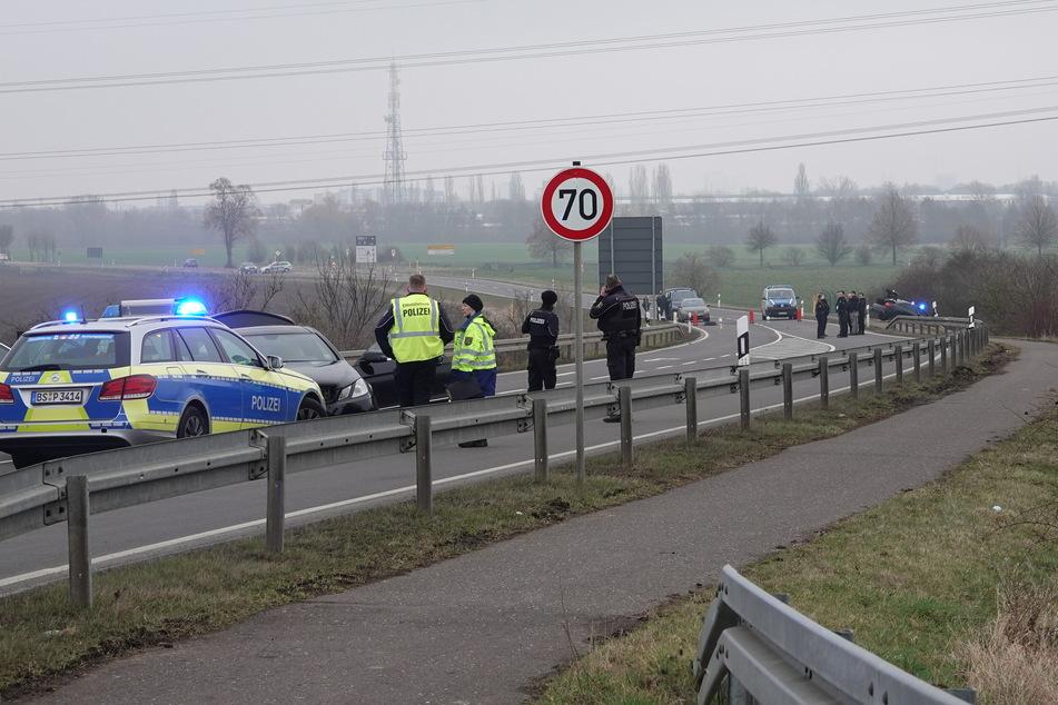 Beamte aus Niedersachsen und Sachsen-Anhalt waren im Einsatz vor Ort.