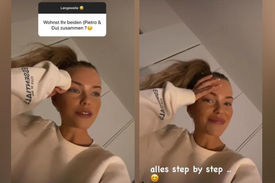 Laura Maria Rypa (24) klärte ihre Instagram-Follower vor Kurzem darüber auf, ob sie und Pietro planen, bald zusammenzuziehen.