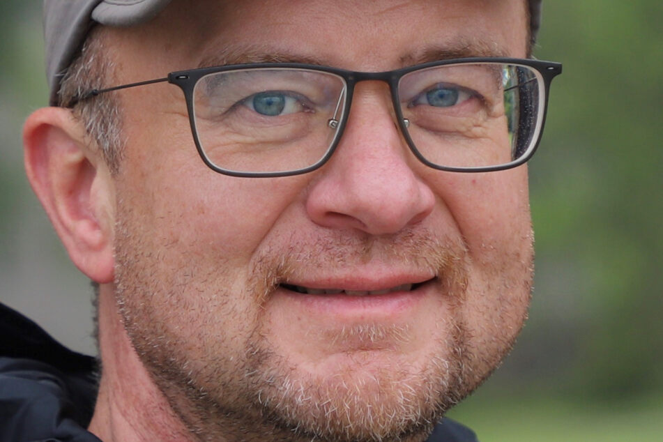Biologe Matthias Jentzsch (58) von der HTW Dresden.