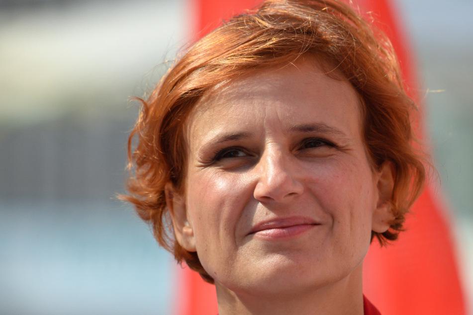 Katja Kipping (42) zieht sich nach acht Jahren von der Parteispitze der Linken zurück.