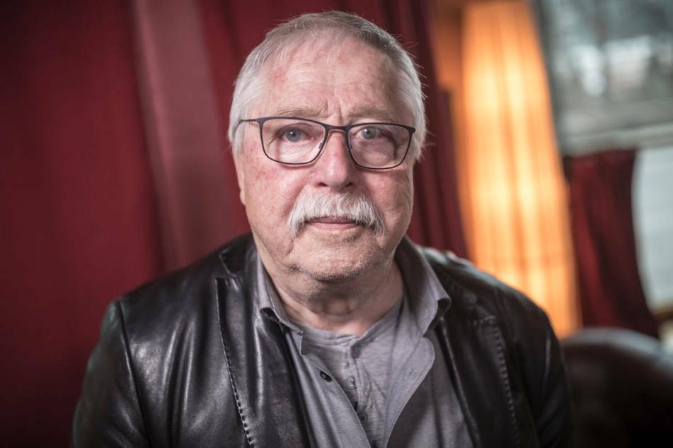 Wolf Biermann (84) bei einem dpa-Interview im Jahr 2019. Am Dienstag gehen Archiv und Tagebücher des Liedermachers in den Bestand der Berliner Staatsbibliothek über. (Archivfoto)