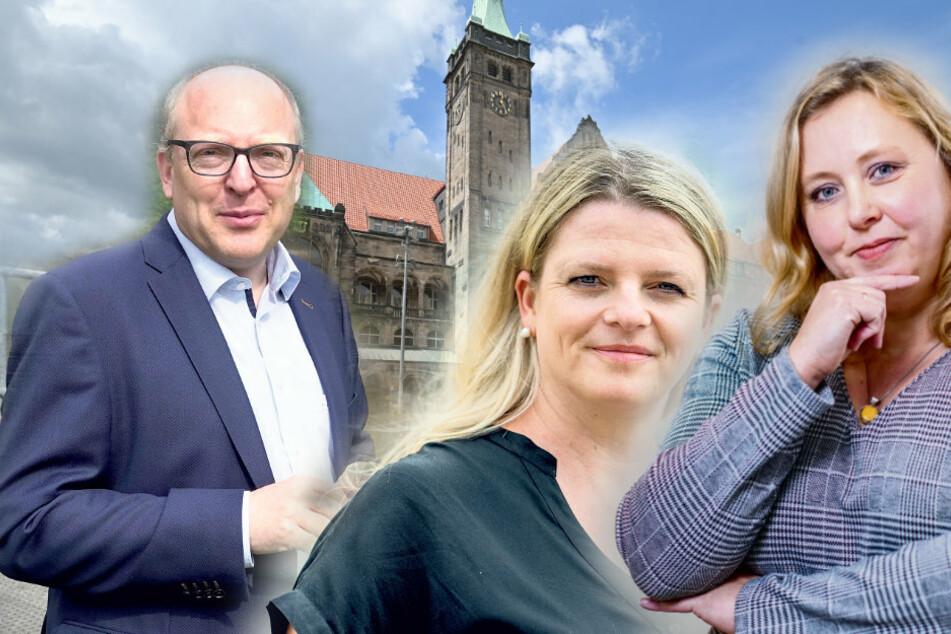 Nur noch Männer an der Rathaus-Spitze: Braucht Chemnitz eine Bürgermeisterin?