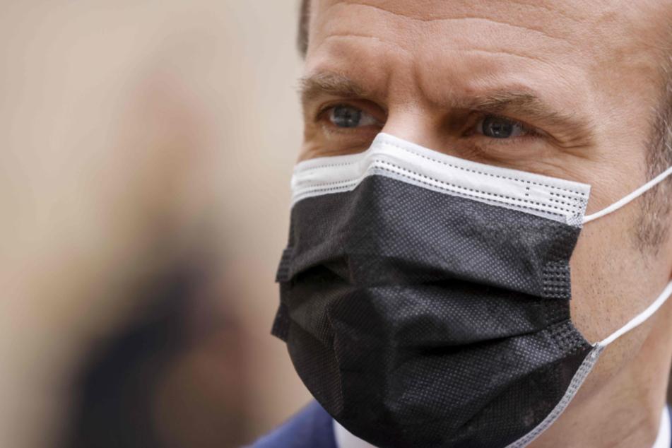 Frankreichs Staatschef Emmanuel Macron (43).