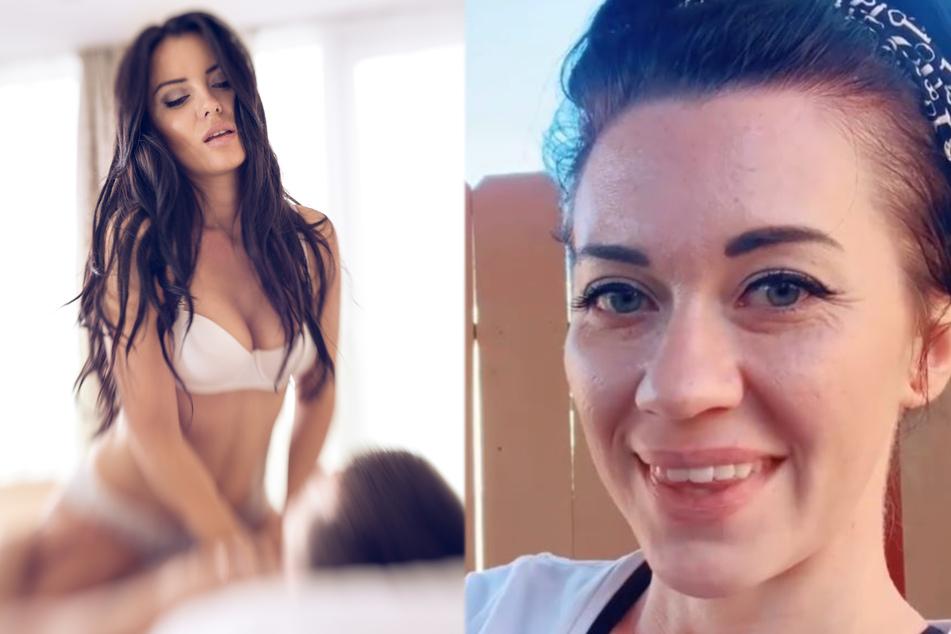 Frau schaut gerade Porno, da bemerkt sie ihren mega peinlichen Fehler