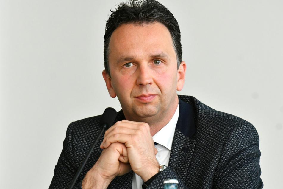 Riesas OB Marco Müller fand unappetitliche Hinterlassenschaften.