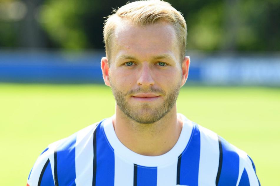 Hertha-Stürmer Pascal Köpke (24) wechselt zum 1. FC Nürnberg