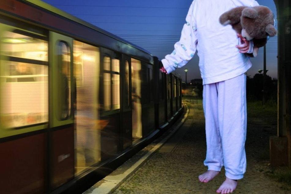 Fünfjähriger nachts im Schlafanzug am Bahnhof gefunden