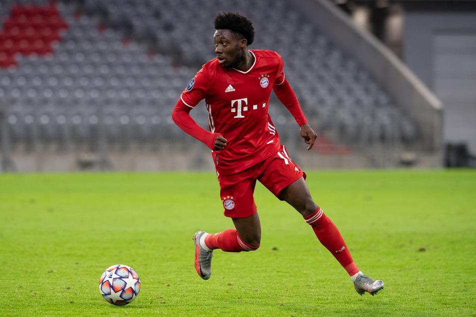 Alphonso Davies (20) wird dem FC Bayern München vorerst fehlen.