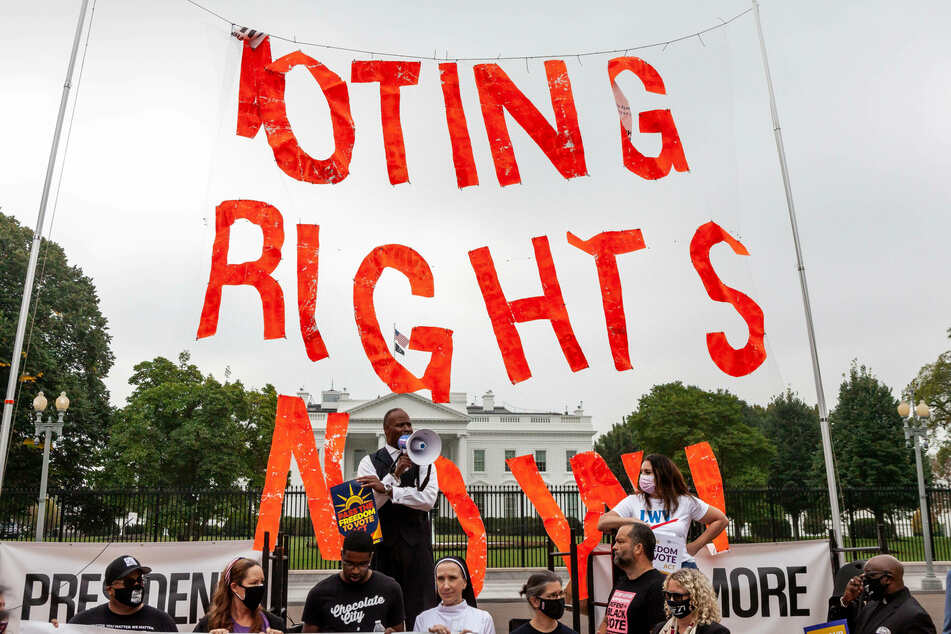 Republicans block Freedom to Vote Act in another blow to voting rights