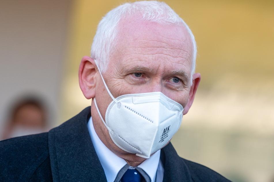 KV-Chef Klaus Heckemann ist über die Impfmüdigkeit in Sachsen besorgt.
