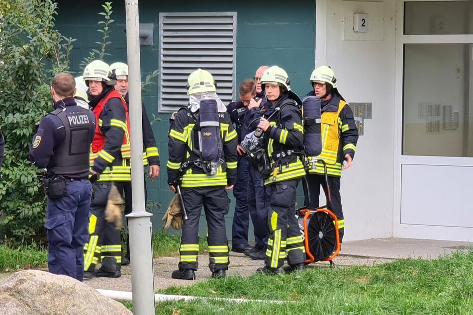 Die Einsatzkräfte bekamen den Brand schnell unter Kontrolle.