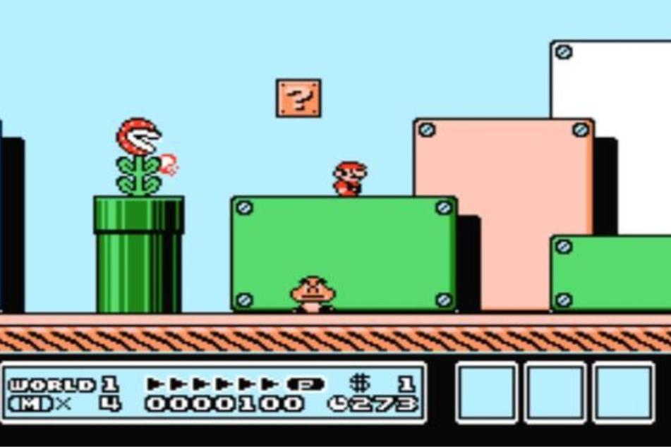 Super Mario Bros. 3 ist ein klassisches Jump 'n' Run mit Mario in der Hauptrolle.