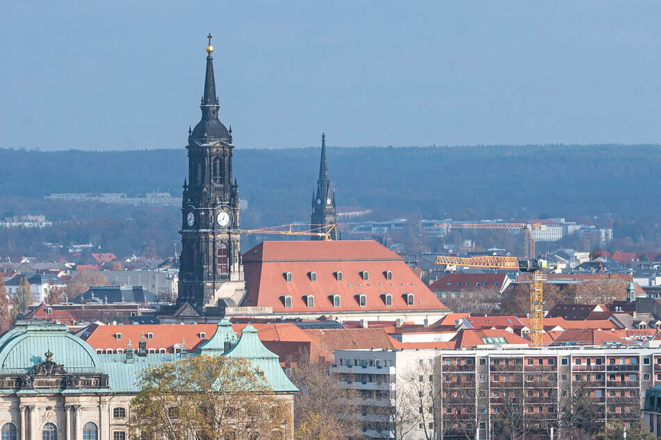 Die Dreikönigskirche in der Neustadt.