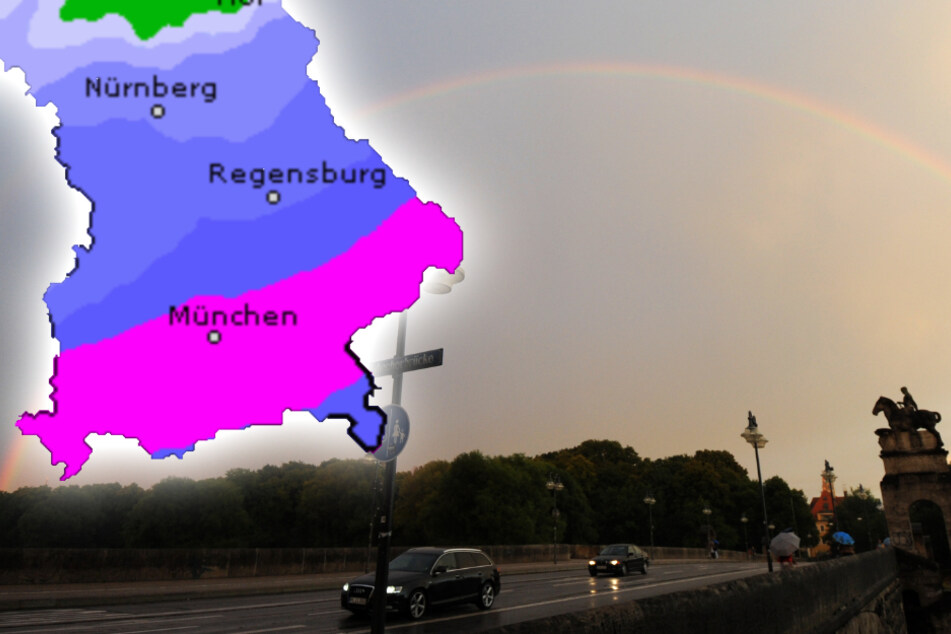 Dauerregen in Bayern: Doch es ist Besserung in Sicht!