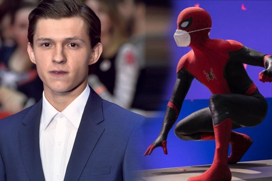 """Wegen Corona: """"Spider Man"""" trägt jetzt zwei Masken"""