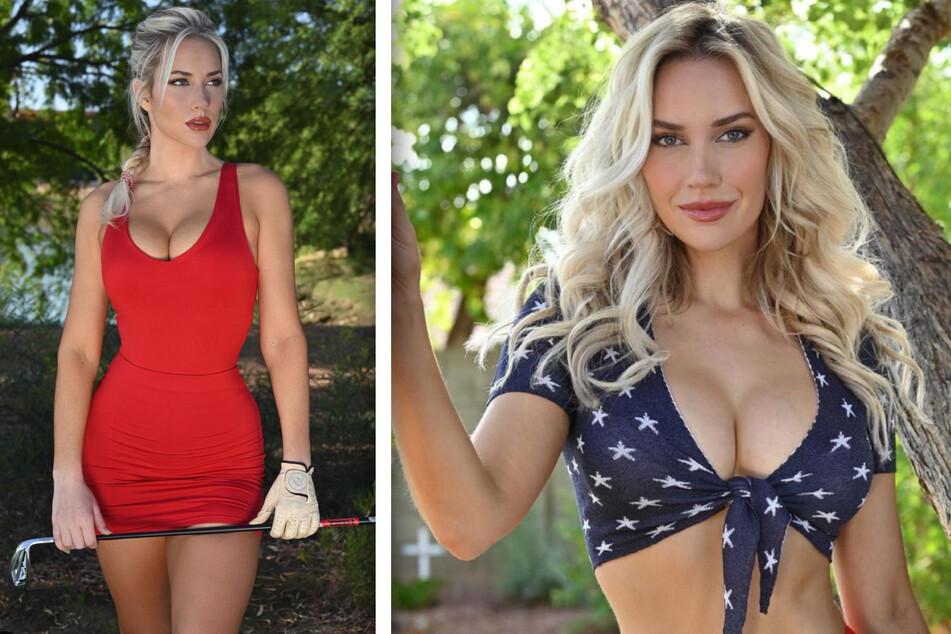 Da können selbst Weltklasse-Golfer nicht mithalten: Paige Spiranac (28) begeistert so viele Fans wie kein anderer Vertreter ihrer Sportart.