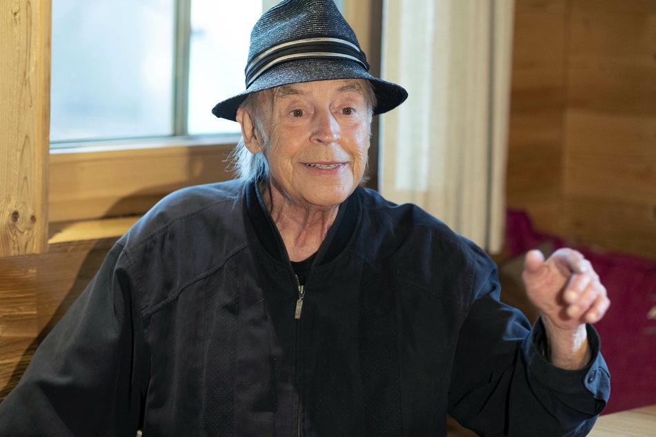 Der Schlagersänger Tony Marshall (82), aufgenommen in der Geroldsauer Mühle bei den Proben zu einem Streaming Konzert.
