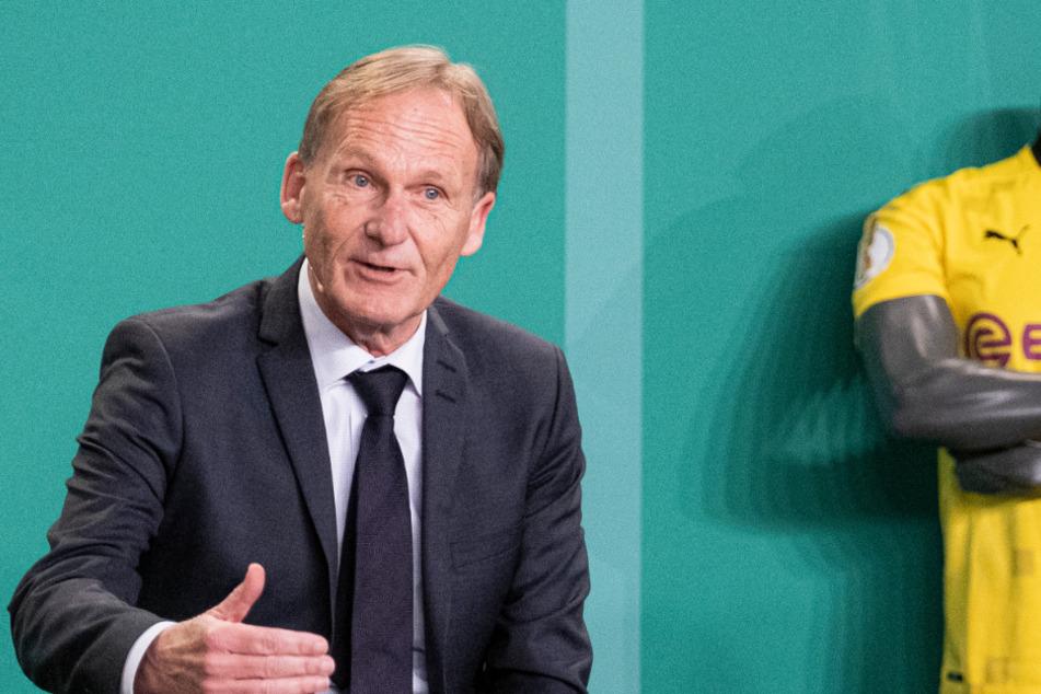 BVB-Boss Hans-Joachim Watzke (61) ist voll des Lobes für seinen Titeltrainer.