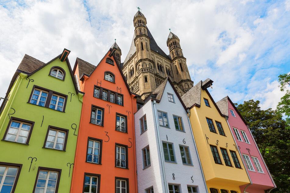 In Köln wird das Wetter die nächsten Tage warm werden.