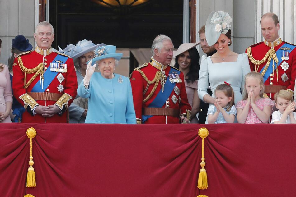So sieht es aus, wenn die Royals auf dem Balkon feiern, wie hier zu Ehren einer Militärparade im August 2018 in London. (Archivbild)