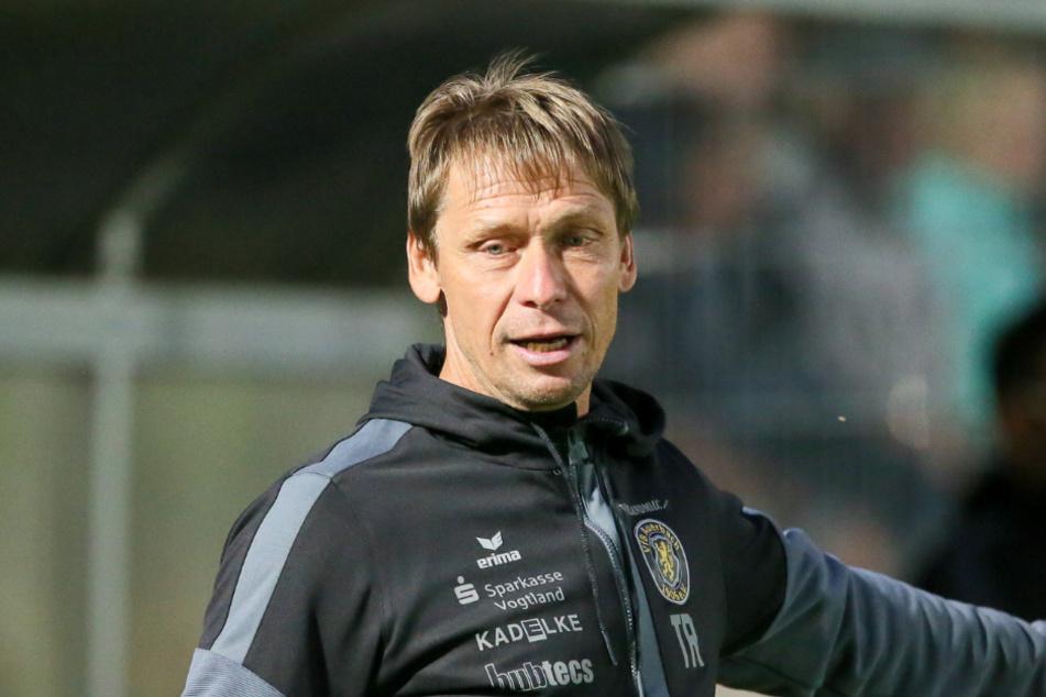 Der Ex-Chemnitz-Coach Sven Köhler trainiert nun den VfB Auerbach,