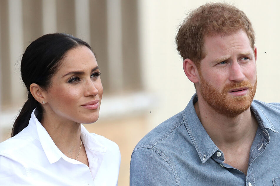 Prinz Harry und seine Frau Meghan.