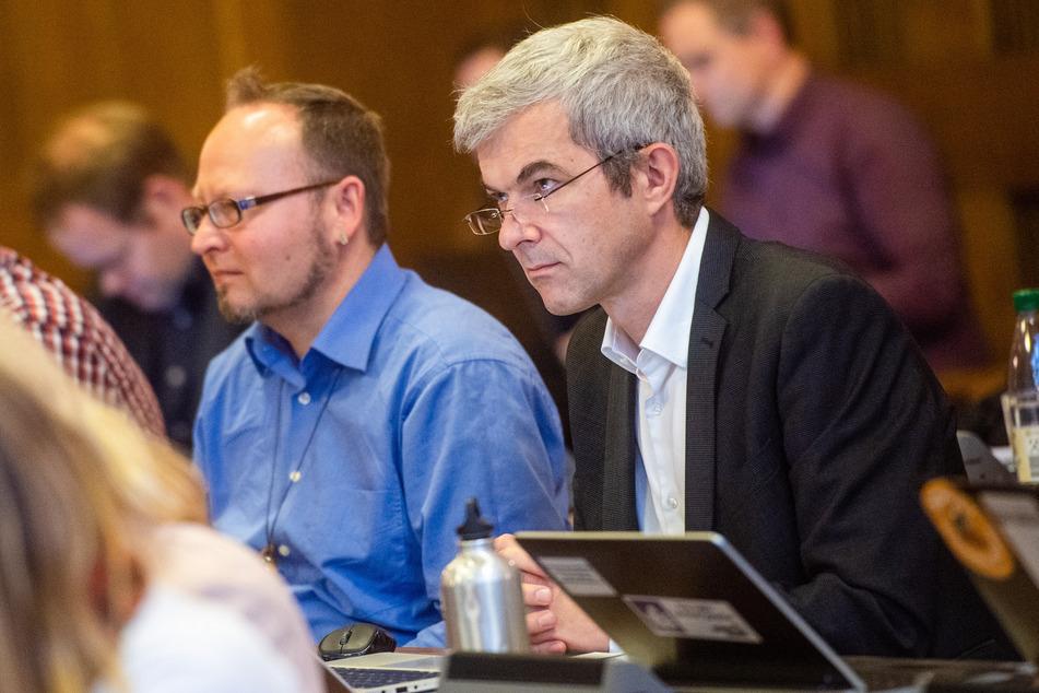 Volkmar Zschocke (51, Grüne) stimmte gegen den Antrag der AfD-Fraktion.
