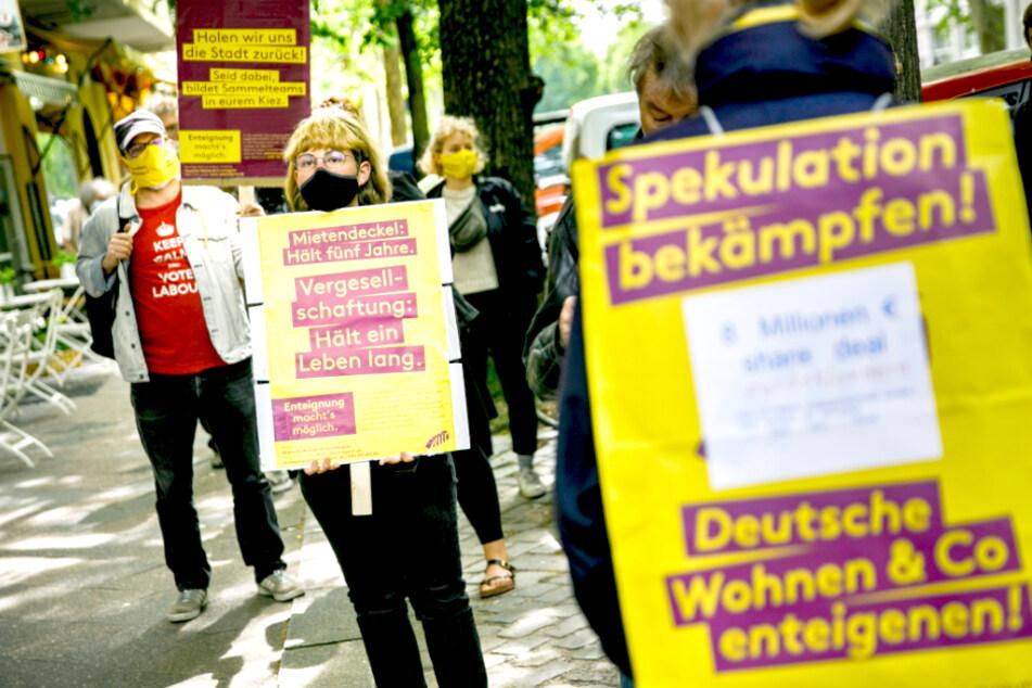 """Senat erklärt Volksbegehren """"Deutsche Wohnen & Co. enteignen"""" für zulässig"""