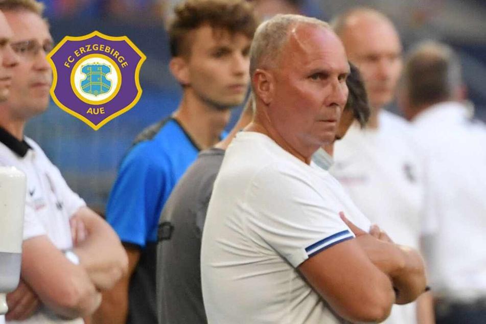 """Aue-Boss Leonhardt vor Paderborn-Match: """"Wir erwarten, dass geliefert wird"""""""