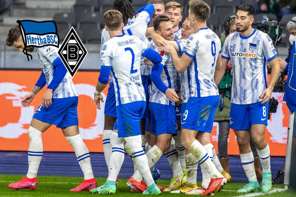 Ein Traumtor reicht: Hertha schlägt auch Gladbach