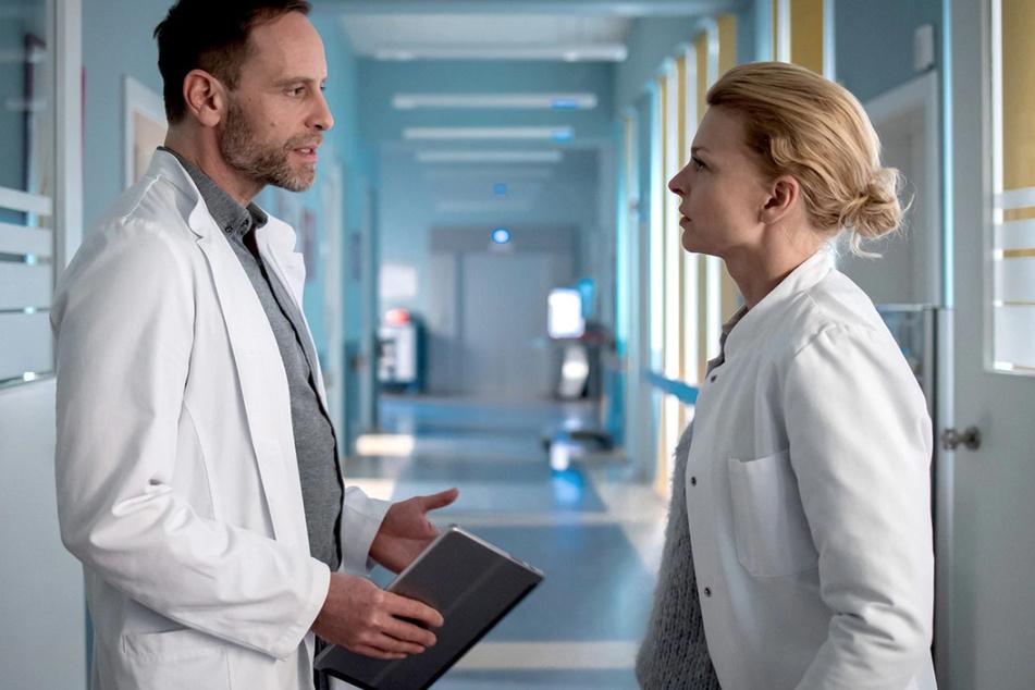 Die Verbindung zwischen Dr. Kai Hoffmann und Dr. Ina Schulte bietet viel Zündstoff für spannende Folgen.