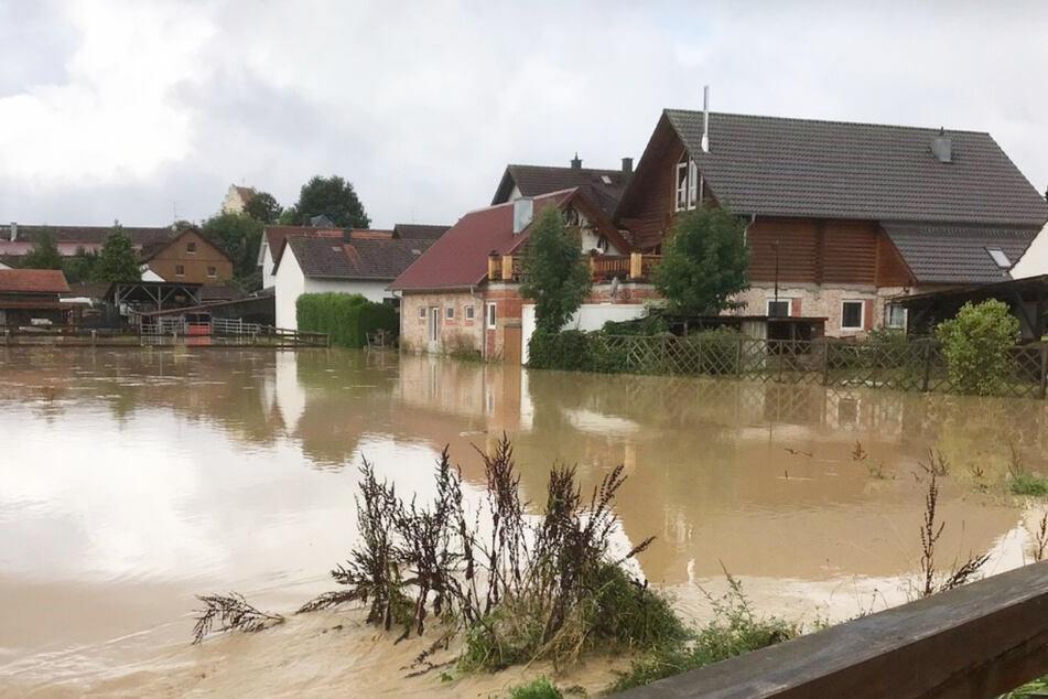 In mehreren bayerischen Regionen - unter anderem Freising - kam es erneut zu Überschwemmungen.