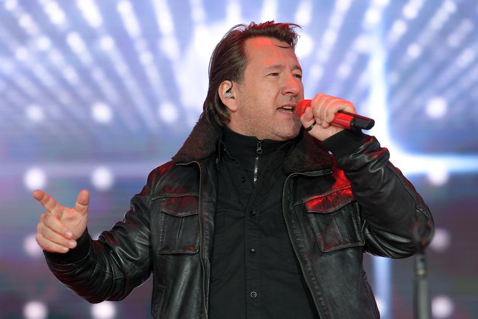 Einer der Gäste: Karat-Sänger Claudius Dreilich.