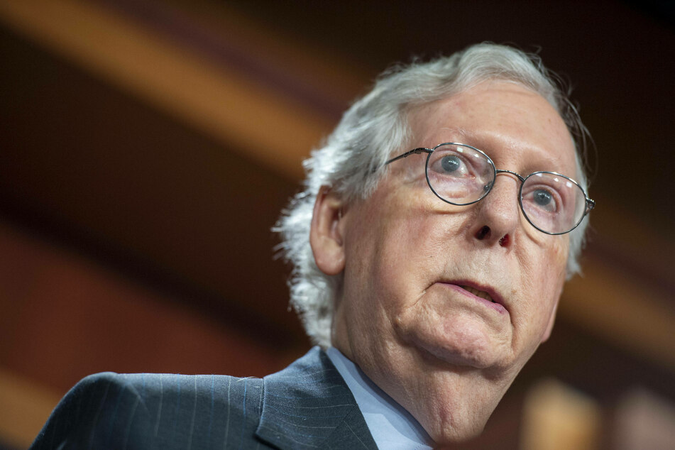 Senate Minority Leader Mitch McConnell has vowed to filibuster the stopgap spending measure already advanced in the House.