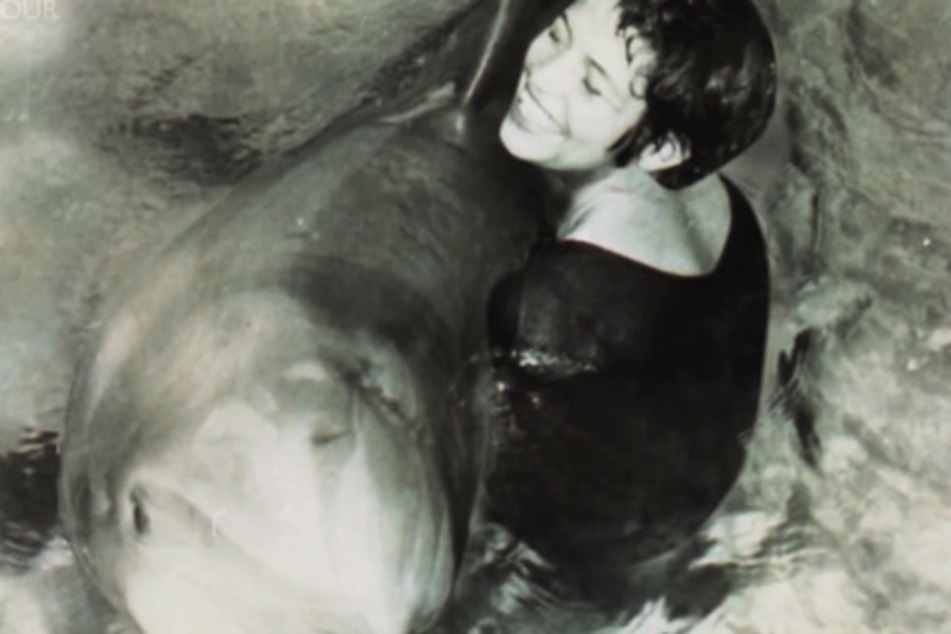 Margaret hatte eine enge Bindung zu den Delfinen.