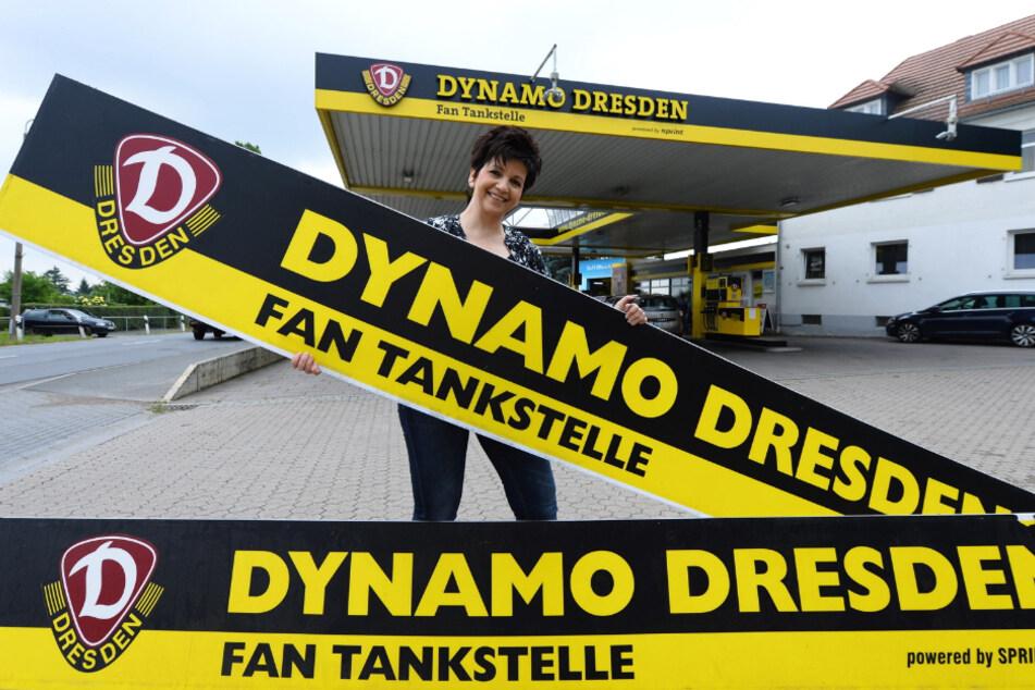 Erst 2016 hat Simone Saloßnick ihre Tanke komplett renoviert und aufgehübscht.