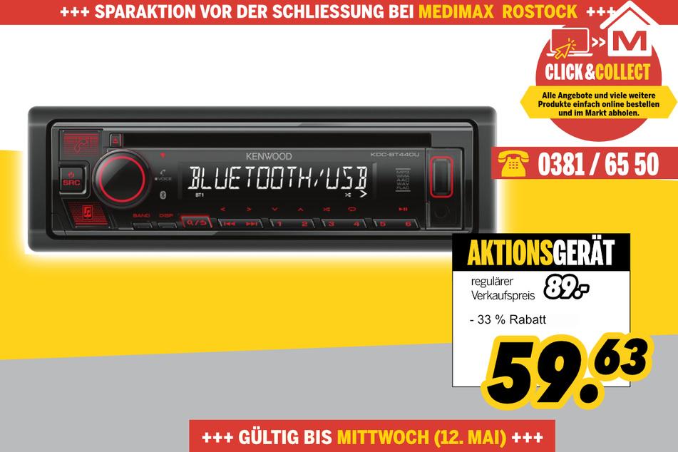 KDC-BT 440 von Kenwood für 59,63 Euro