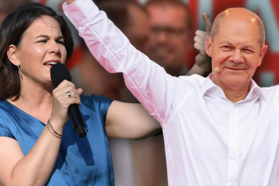 SPD laut Umfragen weiter auf Erfolgswelle: Scholz enteilt der Union! Baerbock büßt ein