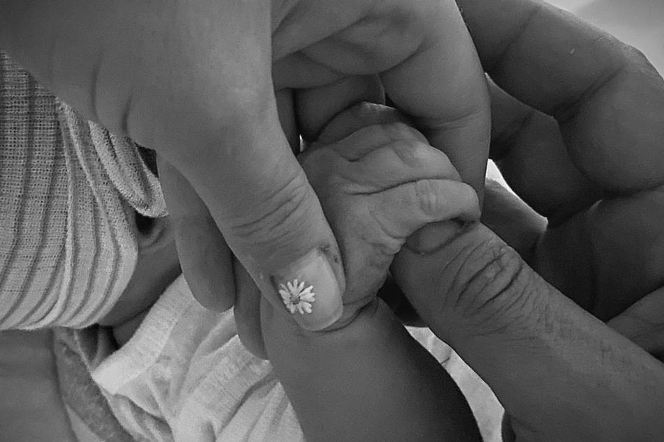 Auf der Instagramseite von UNICEF präsentieren die Eltern ihr Babyglück.