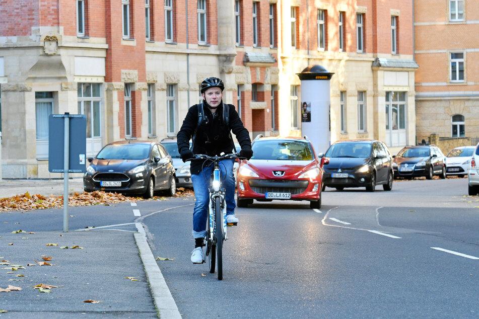 FDP-Stadtrat Christoph Blödner (37) hat sich für die Radwege eingesetzt
