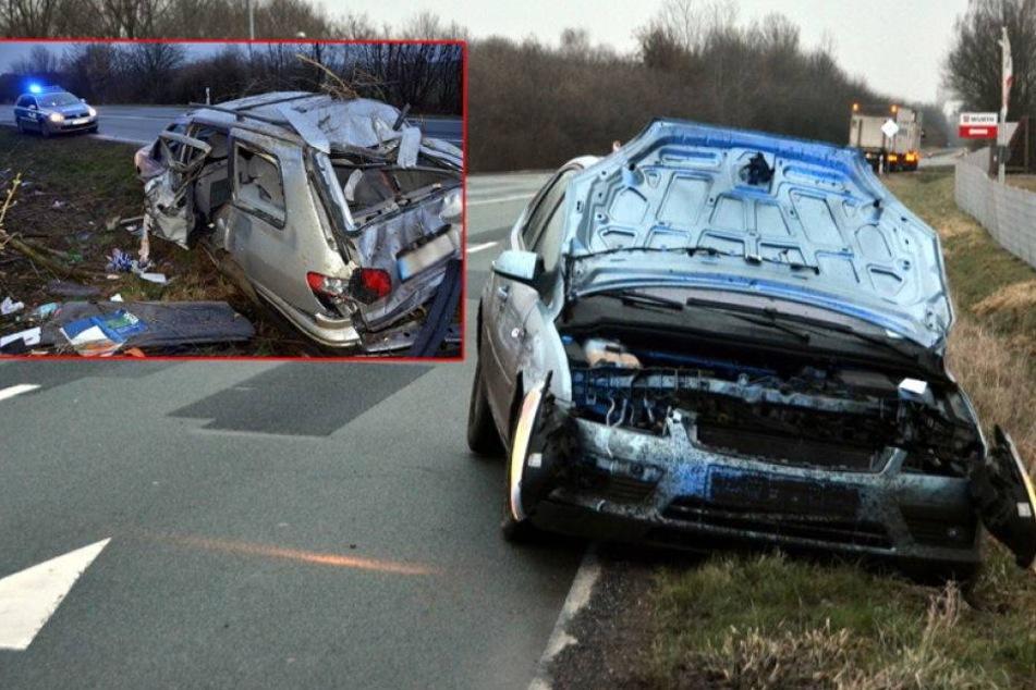 48-Jähriger verursacht gleich zwei schwere Unfälle