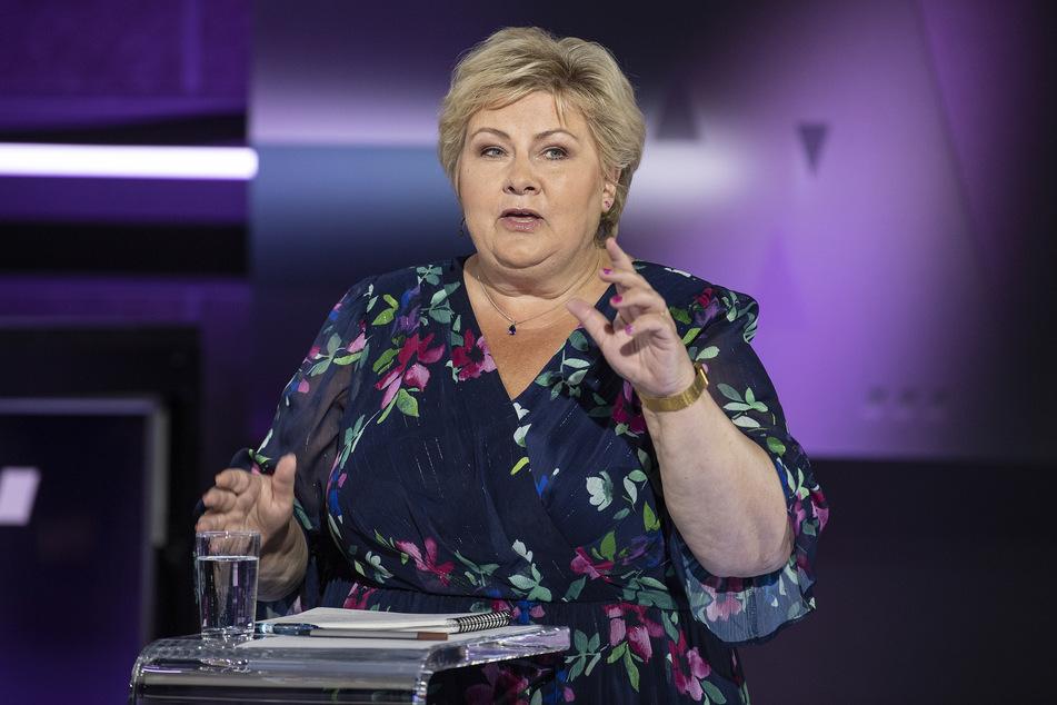 Die norwegische Ministerpräsidentin Erna Solberg (60) verkündete nun das Ende der Corona-Beschränkungen in ihrem Land.