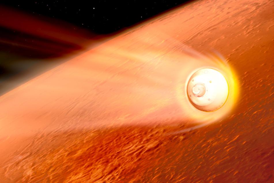 Nasa-Rover landet auf dem Mars: Hier könnt Ihr live zusehen!