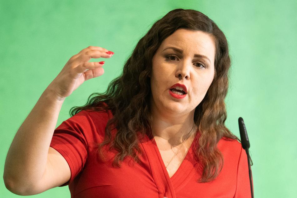 Anna Gallina (37) möchte, dass sich auch eine Frau um die Nachfolge von Angela Merkel bewirbt. (Archivbild)