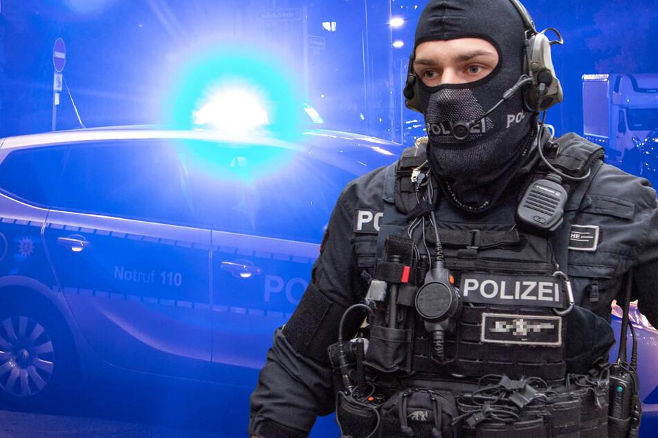 Schüsse in Wohngebiet bei Kassel: Spezialeinheit der Polizei im Einsatz